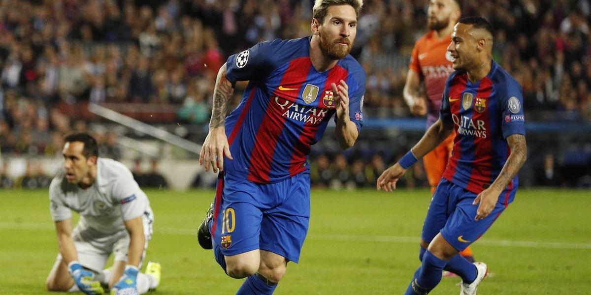 Auteur d'un triplé, Lionel Messi a renvoyé le Manchester City de Pep Guardiola à ses chères études (4-0)