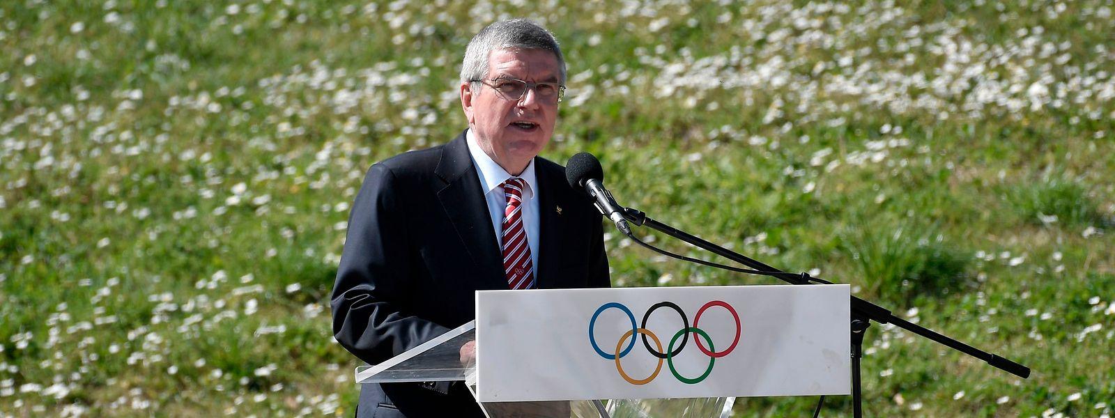 IOC-Präsident Thomas Bach weicht von seinem Kurs ab.