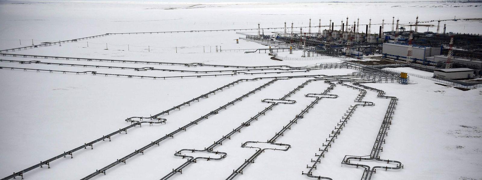 EUA descartam que Rússia esteja a estrangular o fornecimento de gás à UE, como forma de aumentar os preços e criar pressão política para a aprovação do pipeline Nord Stream 2, no Círculo Ártico (na foto).
