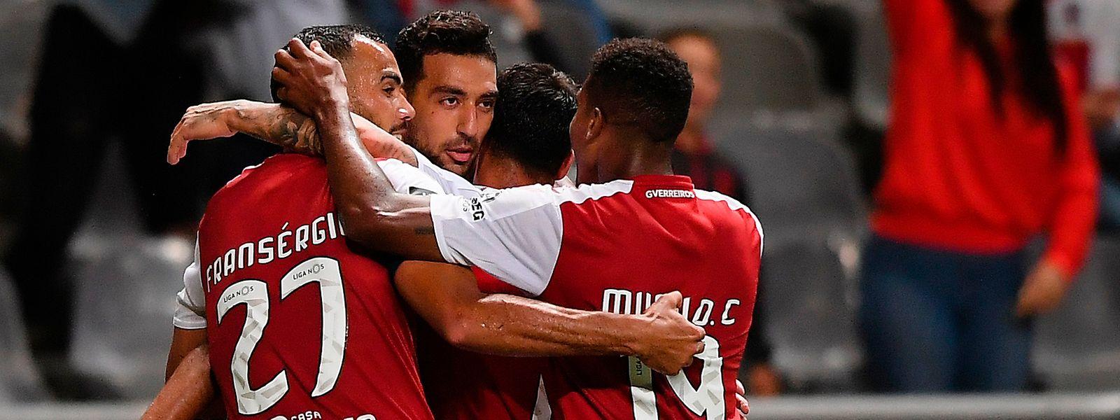 Os 'arsenalistas' só entram em campo na quinta-feira, pelas 20:45, no Estádio Municipal de Braga, para receberem a equipa dinamarquesa do Brondby.