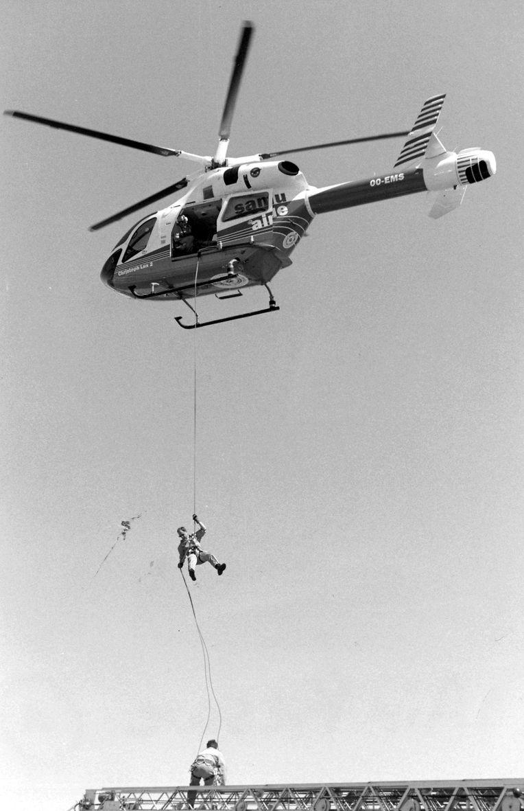 En 1996, le LAR reçoit un hélicoptère, qui peut également être utilisé pour les opérations de sauvetage.