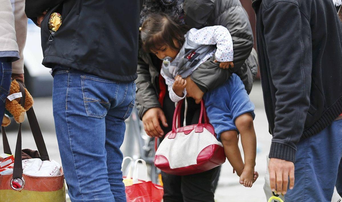 Viele Flüchtlinge sind so entkräftet, dass sie dringend medizinisch versorgt werden müssen.