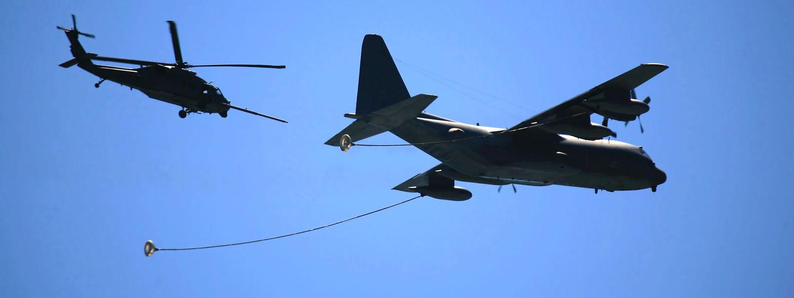 Le ravitailleur commandé par le Luxembourg pourrait alimenter l'A400 attendu en juin dans ses missions au long cours.
