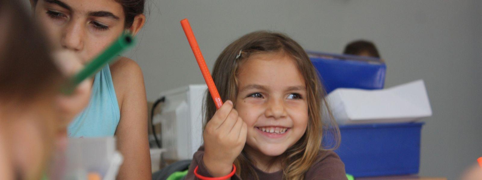 """Projekt zur Unterstützung von dyslexischen Kindern der """"Fondation Pax Christi"""" unter der Federführung der """"Fondation de Luxembourg""""."""