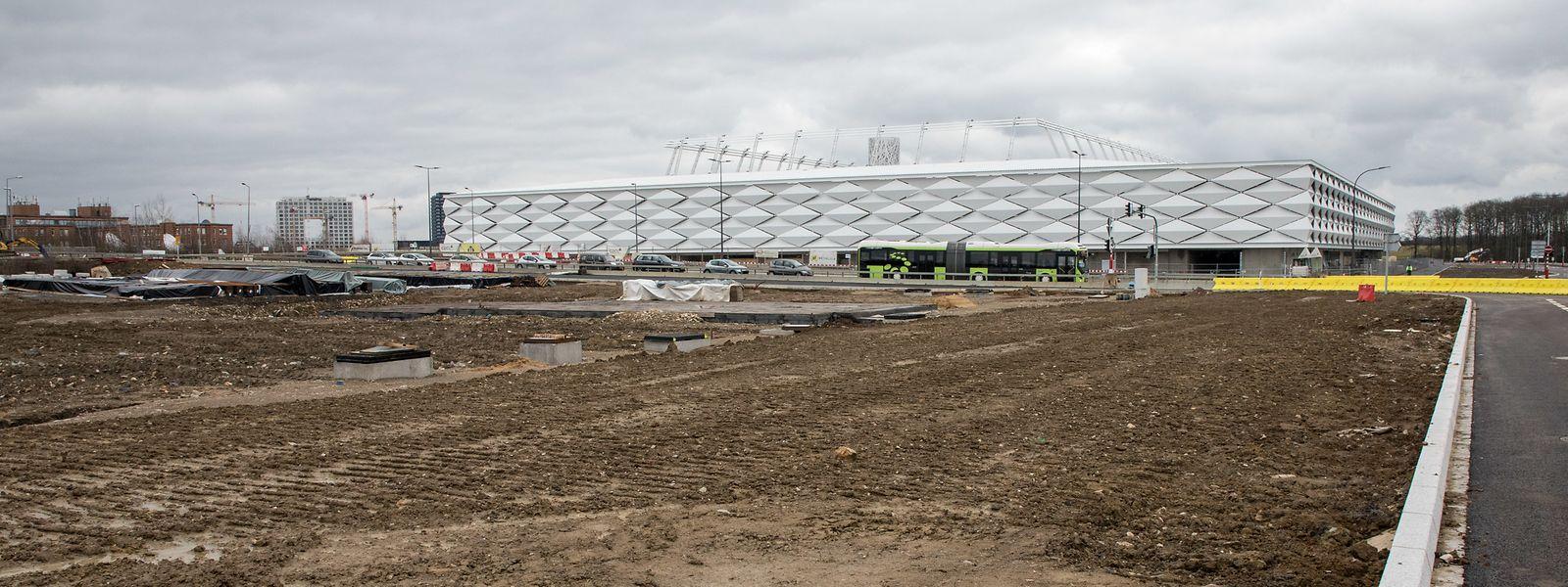 Voraussichtlich im September sollen die Arbeiten für das Parkhaus aufgenommen werden.