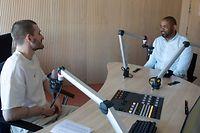 "Sport, ""And One - De Basketpodcast"" Folge vier mit Jairo Delgado Foto: Chris Karaba/Luxemburger Wort"
