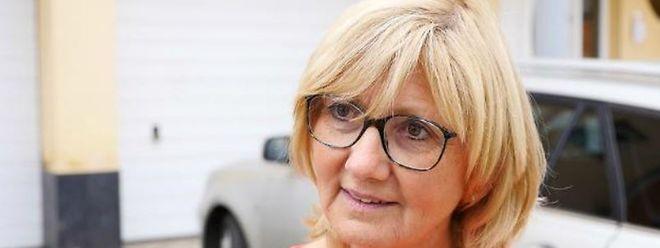 Auch Cecile Frising wurde von den Überschwemmungen überrascht.