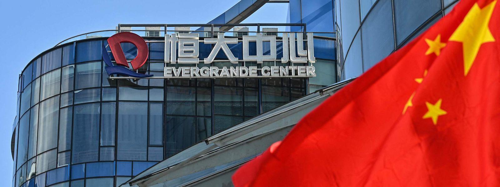 Evergrande hat Schulden von umgerechnet mehr als 256 Milliarden Euro angehäuft. Anleger befürchten einen Zahlungsausfall.