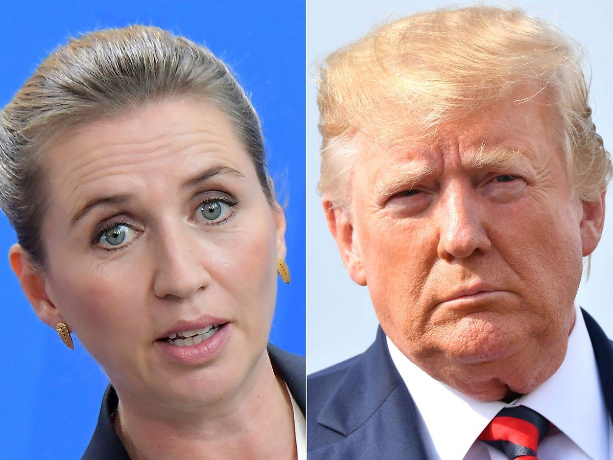 Die dänsiche Premierministerin Mette Frederiksen hatte die Kaufinteressen von Donald Trump entschieden zurückgewiesen.