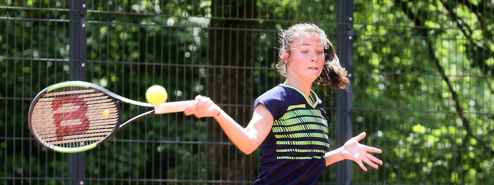 Der TC Bonneweg setzt auf die Jugend, wie zum Beispiel die 15-jährige Lea Mouton.