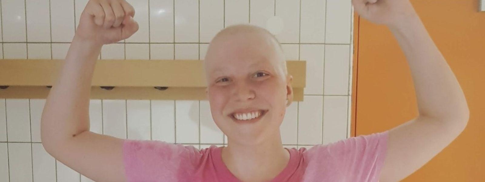 2017 wird bei Élina Ecker akute Leukämie diagnostiziert. Rund zwei Jahre nach der Stammzellentransplantation geben die ärztlichen Kontrollen Anlass zur Hoffnung.