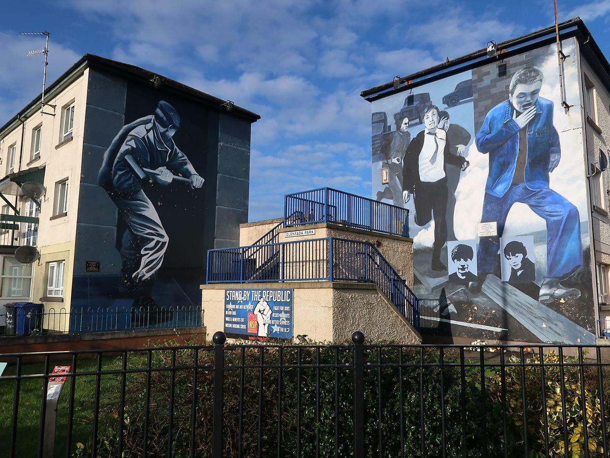 In Derry sind die Wunden des Nordirlandkonflikts noch sehr sichtbar.