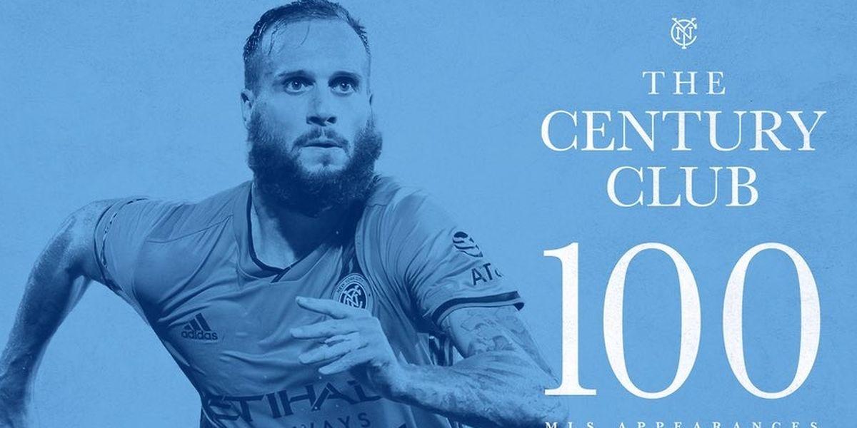 100 Partien in er MLS. Da kann man schon mal feiern.