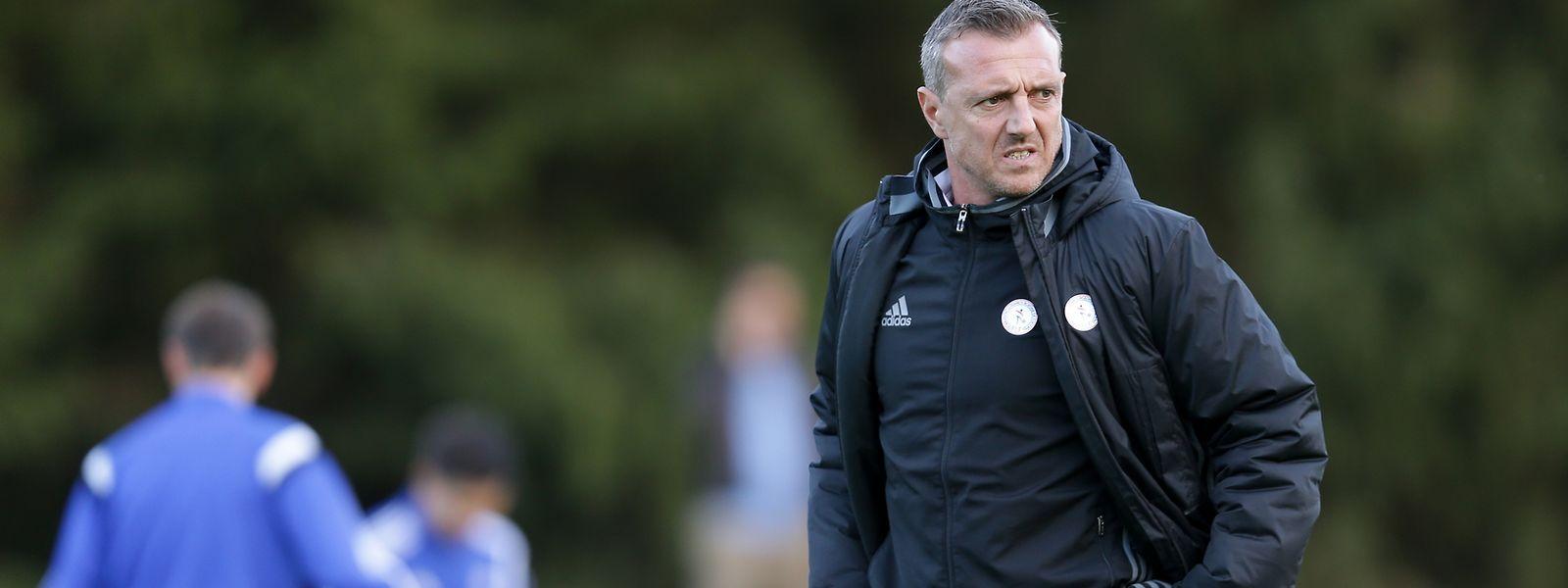 Trainer Manuel Cardoni sah keine gute Leistung seiner Mannschaft.