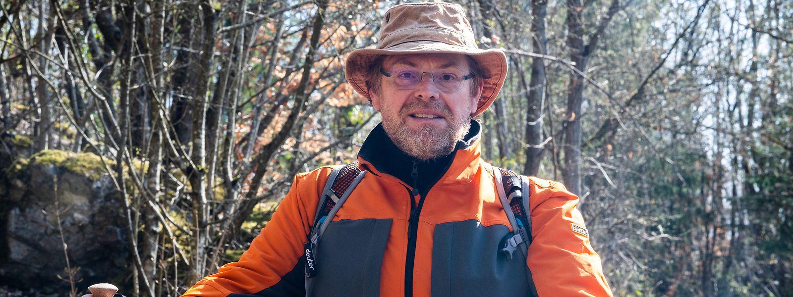 Steve Gaffiné hat zu Beginn der Pandemie durch digitale Wanderveranstaltungen seine alte Leidenschaft wiederentdeckt. 2020 ist er 563 Kilometer gewandert, in diesem Jahr bis jetzt schon mehr als 600.