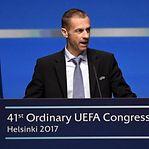UEFA garante que não haverá uma Superliga Europeia de futebol