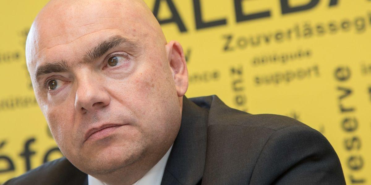 Le secrétaire général de l'Aleba, Laurent Mertz.