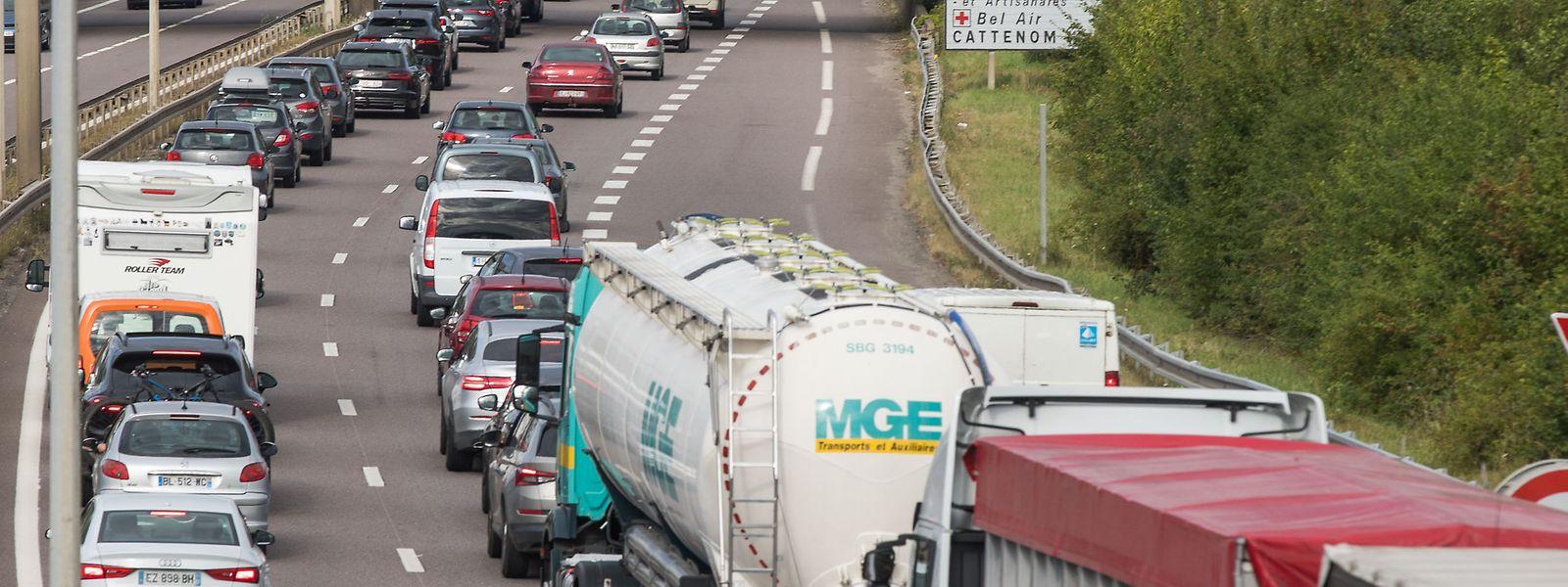 Déjà saturée, l'A31 va-t-elle devoir absorber en plus un flux de camions évitant l'Alsace? Les élus lorrains le craignent.