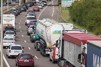 Thionville, Diedenhofen, A31,  Autobahn, Stau, Foto: Lex Kleren/Luxemburger Wort