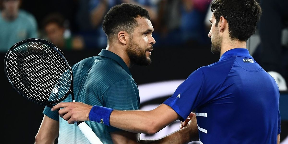 Novak Djokovic sans pitié pour un Jo-Wilfried Tsonga en reconquête. Long is the road...