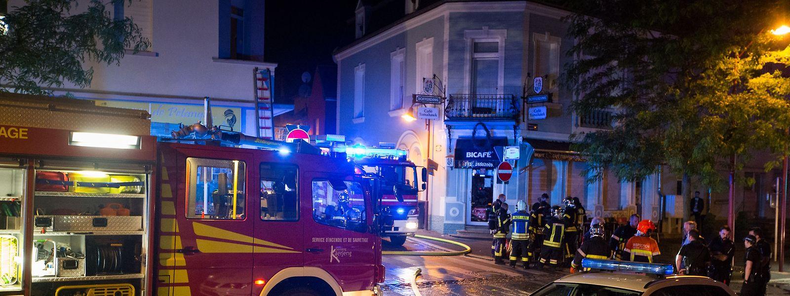Gegen 2.15 Uhr war das Feuer ausgebrochen.