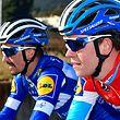 Bob Jungels und Julian Alaphilippe - Teamvorstellung Deceuninck-Quickstep - Foto: Serge Waldbillig