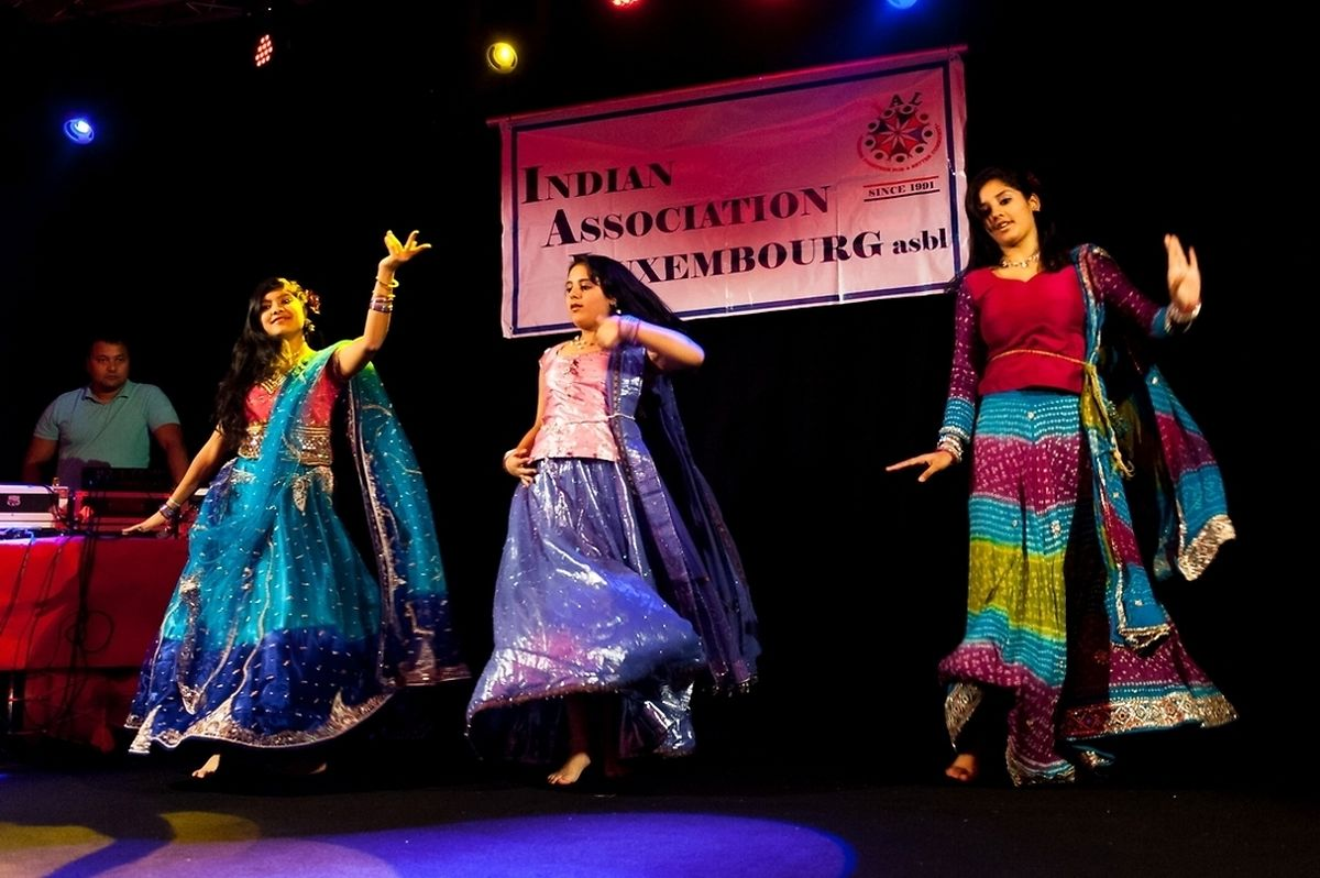 Indian dance performed at a previous Diwali celebration organised by the Indian Association of Luxembourg