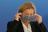 Politik, Presskonferenz, Covid-19, Claude Meisch und Paulette Lenert. Foto: Chris Karaba/Luxemburger Wort