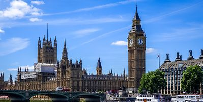 UK capital city, London