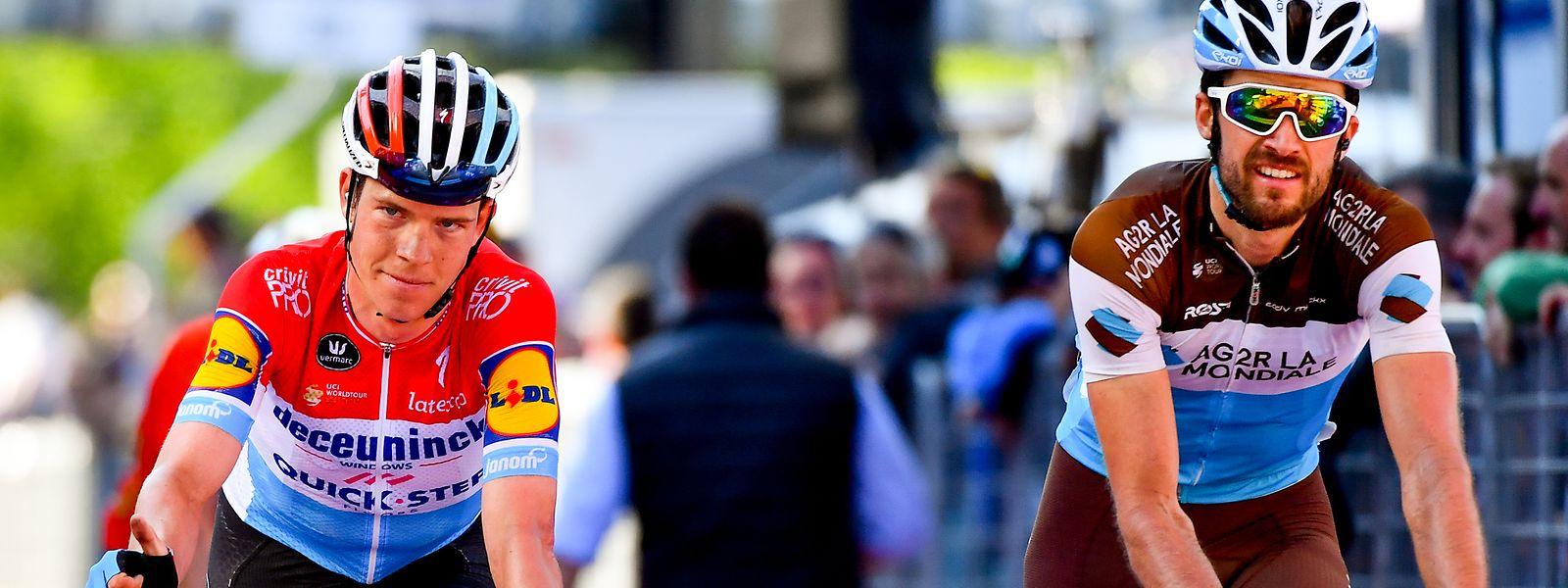 Gemeinsam beim Giro d'Italia: Bob Jungels (l.) und Ben Gastauer.