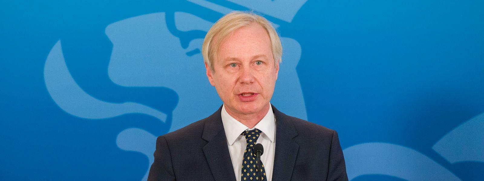 Pour le Dr Schmit, président de l'AMMD, il est temps de reprendre les négociations entre médecins et ministère de la Santé