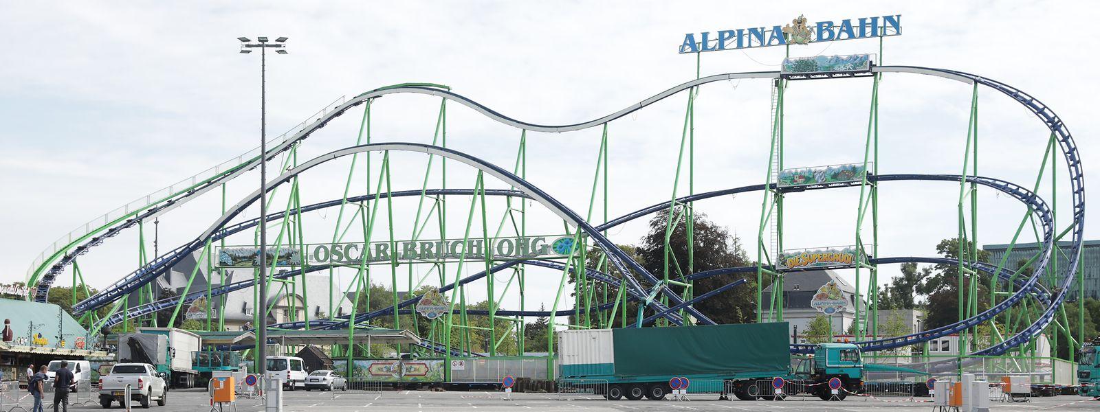 Avec 910m de parcours sur 27m de haut, l'Alpina Bahn va donner bien des frissons.