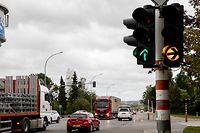 Lok , Bartringen  , Ampelanlage Tossebierg , Foto:Guy Jallay/Luxemburger Wort