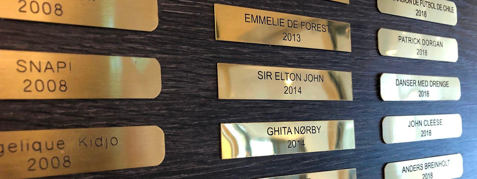 Sänger Elton John ist einer von vielen Stars, die im selben Hotel wie die Luxemburger übernachtet haben.