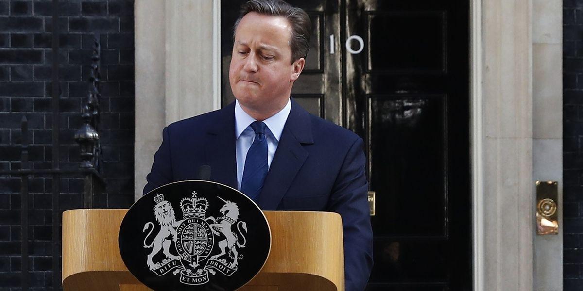 Le Premier ministre Britannique David Cameron s'est exprimé ce vendredi matin devant le 10 Downing Street à Londres.