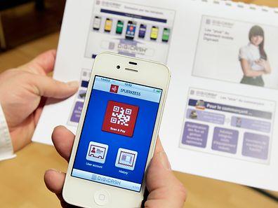 """15.11.12 lancement officiel de """"Digicash"""", solution de paiement mobile, photo : Marc Wilwert"""