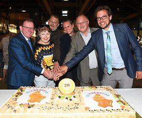 20 Jahre Nordliicht TV- Geburtagsfeier unter Freunden