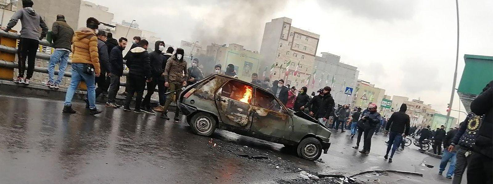 Laut Amnesty wurden bei den zweiwöchigen Protesten im November mindestens 200 Menschen getötet.