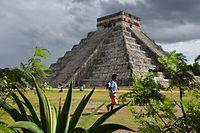 Kukulkan-Pyramide in ChichenItza