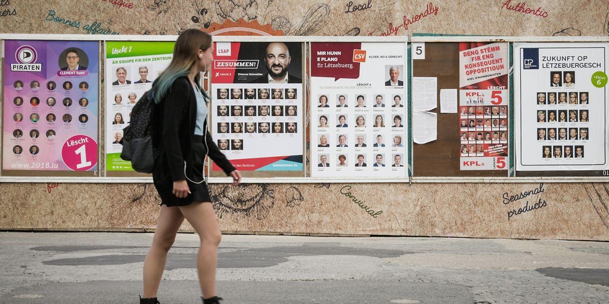 Auch die etablierten Parteien haben sich auf die Debatte um die nationale Identität eingelassen.