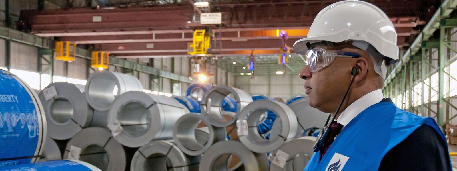 Einweihung Liberty Steel Düdelingen in der Z.I. Wolser. Sanjeev Gupta (Executive Chairman)