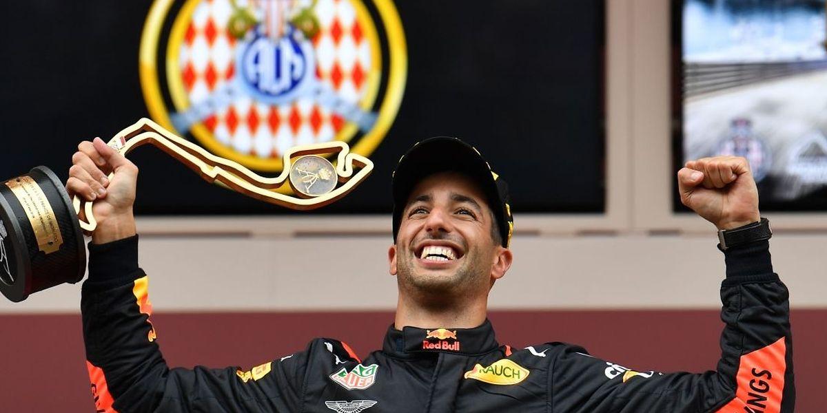 Daniel Ricciardo venceu um Grande Prémio pela sétima vez