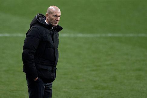 Fußball: Zidane übernimmt Verantwortung für Reals Blamage