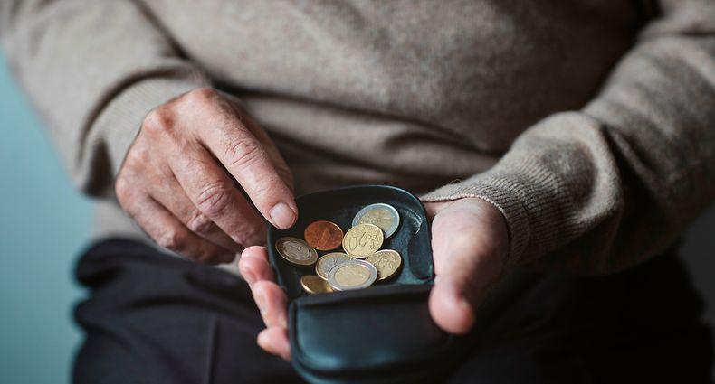 Armut Rente