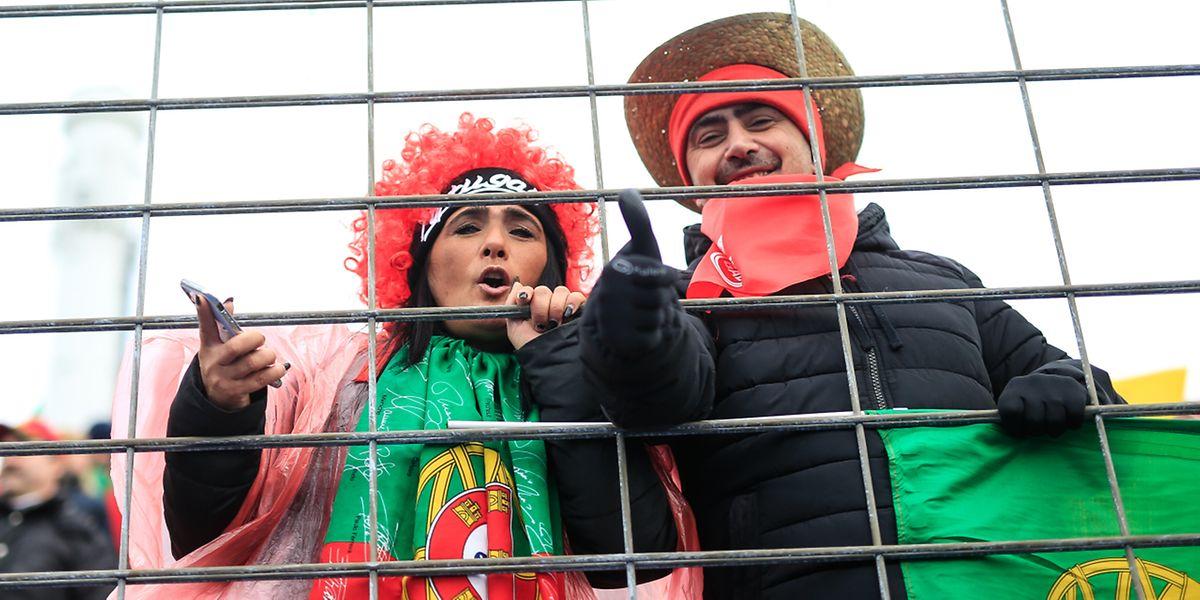 Les supporters portugais ont remporté le match des tribunes.