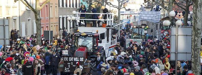 Der Massenauflauf bei der Diekircher Kavalkade will gut geplant sein. Sicherheitsbedenken müsse kein Besucher haben, versichert die Polizei.