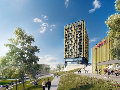 It will be located near the new commercial centre which will open in this autumn