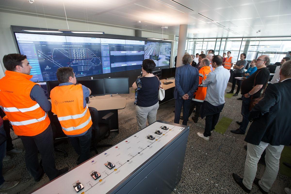 Des agents régulateurs prendront place dans cette pièce pour assurer la bonne marche du réseau, en lien avec les chauffeurs