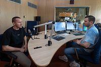 Sport , Basketpodcast , Ken Diederich , Foto:Guy Jallay/Luxemburger Wort
