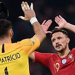 Liga das Nações. Portugal empata em Itália e qualifica-se para a final four